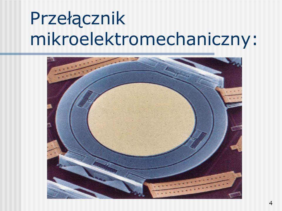 4 Przełącznik mikroelektromechaniczny: