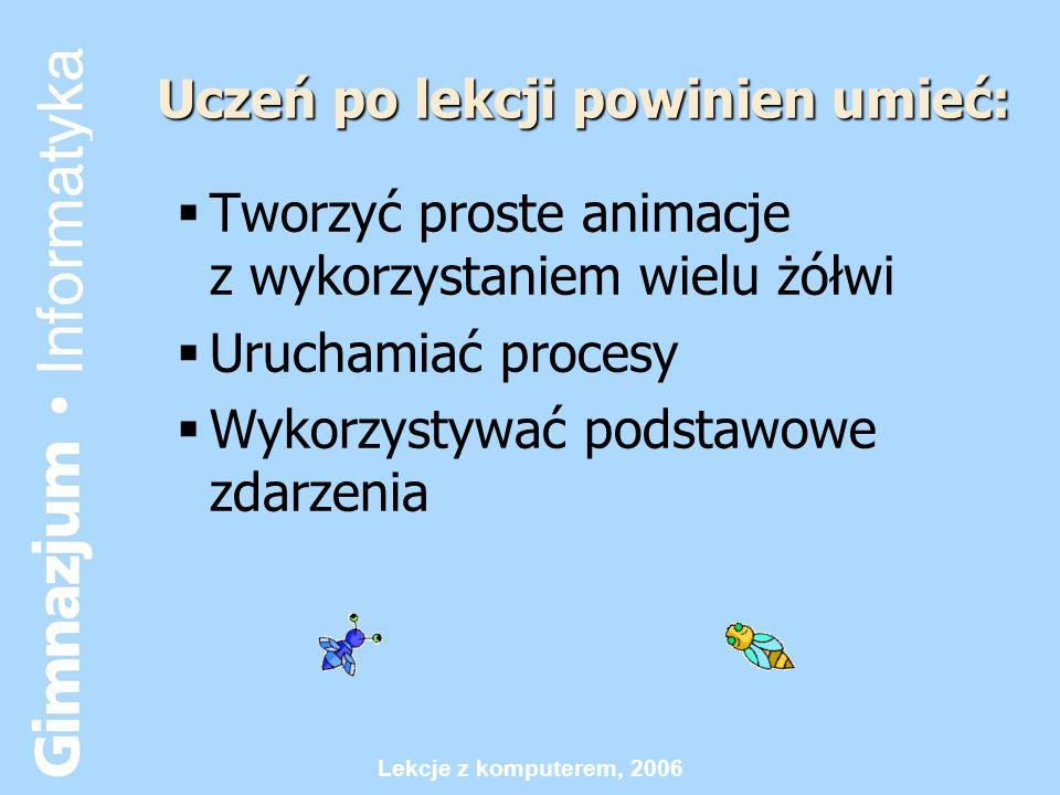 Lekcje z komputerem, 2006 Lekcja 6.1 Liczby w komórkach
