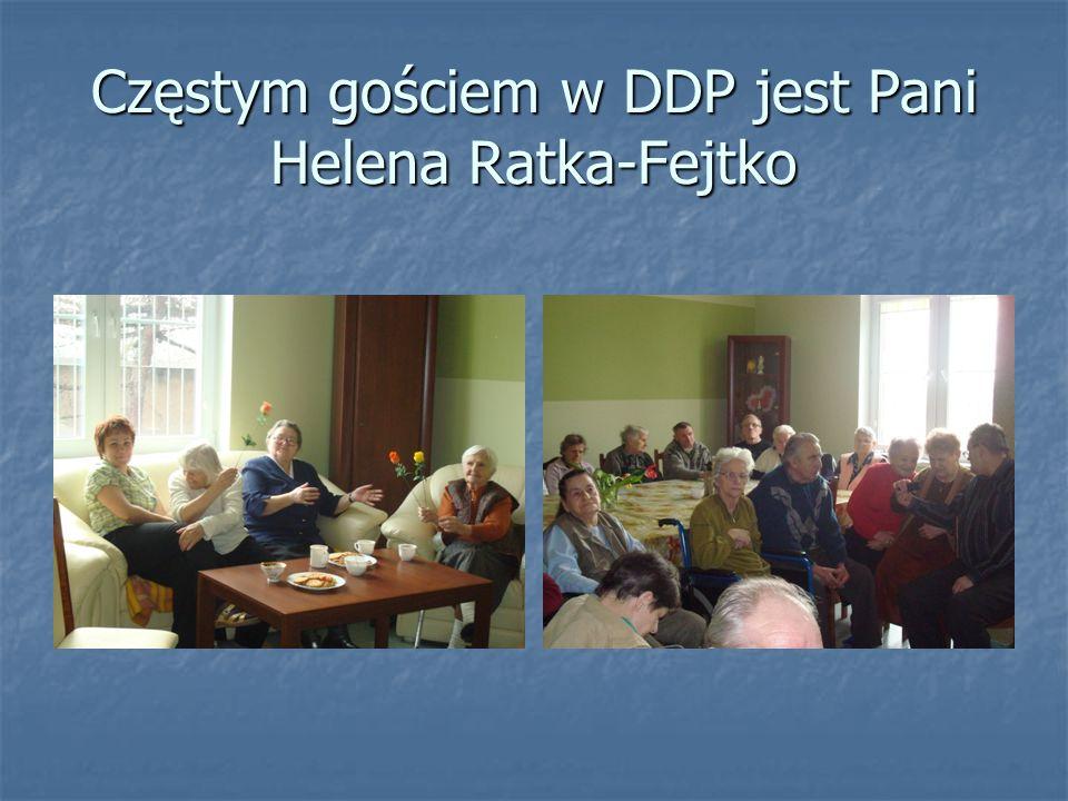Częstym gościem w DDP jest Pani Helena Ratka-Fejtko