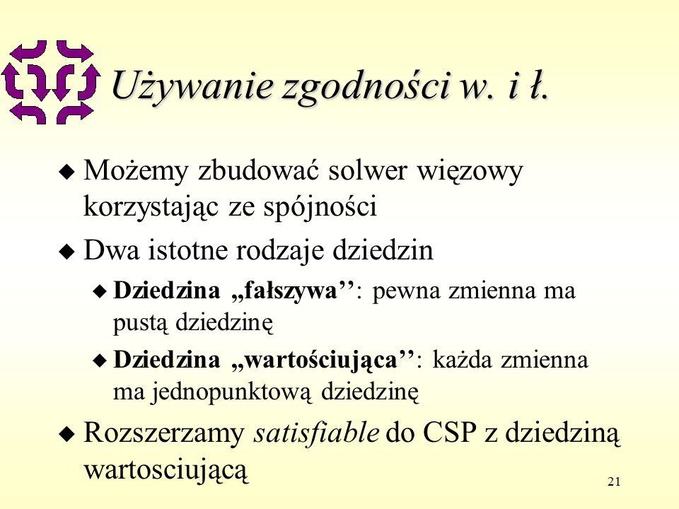 21 Używanie zgodności w. i ł.