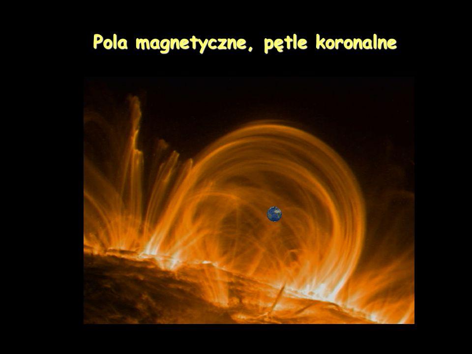 Pętle koronalne - obserwacje