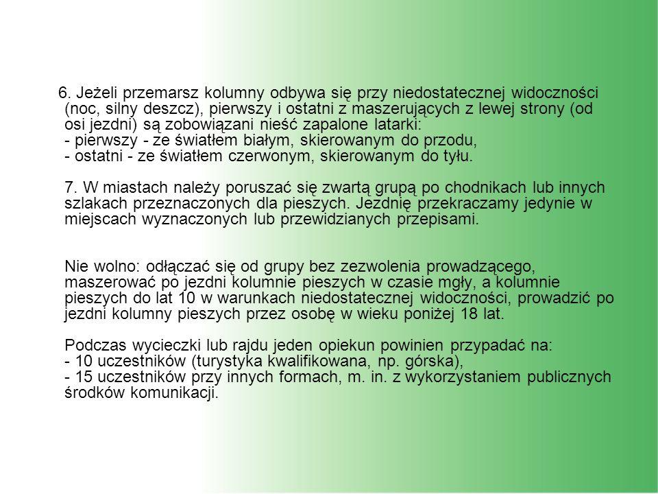 Kodeks Ruchu Drogowego Art.11. 1.