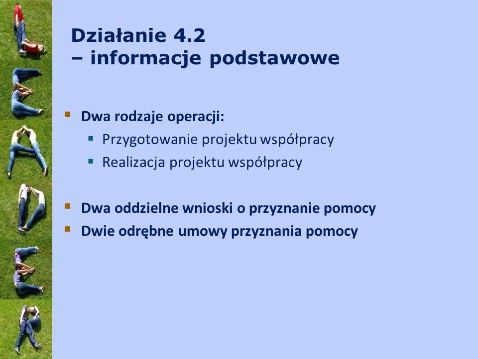 koordynator/współkoordynator projektu współpracy c.d.