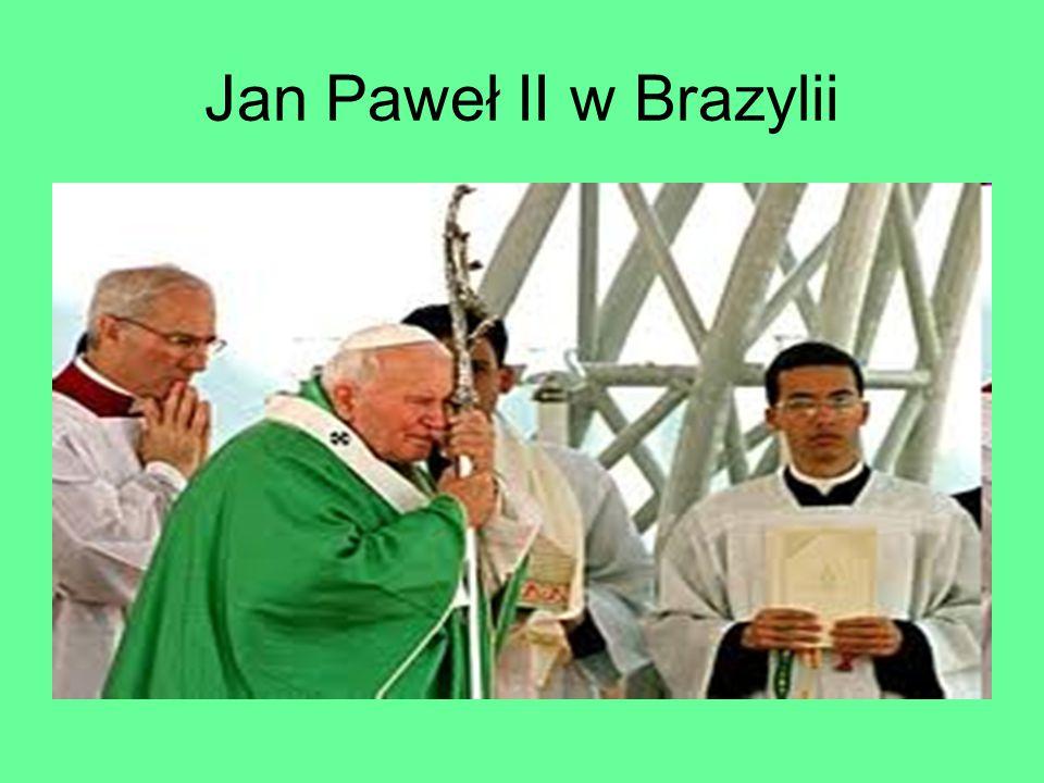 Jan Paweł II w Brazylii