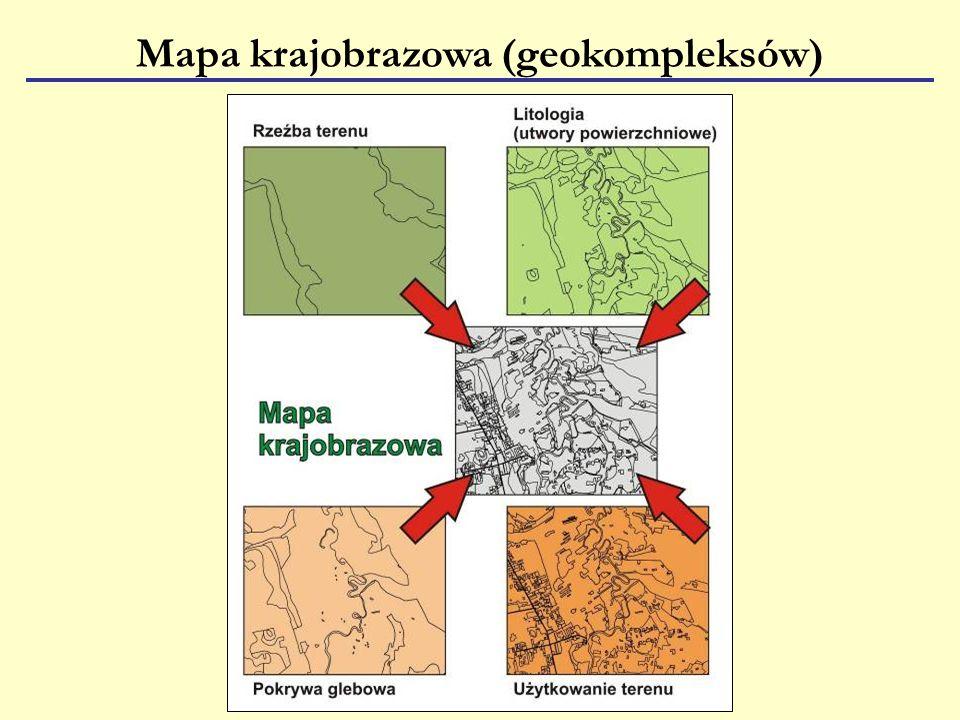 Mapa krajobrazowa (geokompleksów)