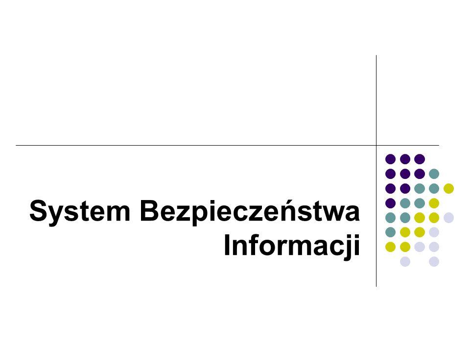 System Bezpieczeństwa Informacji