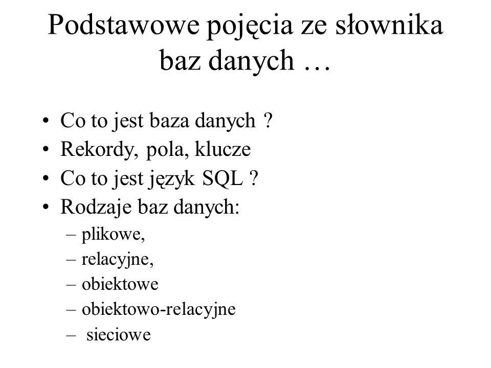 System zarządzania bazami danych (SZBD) (ang.