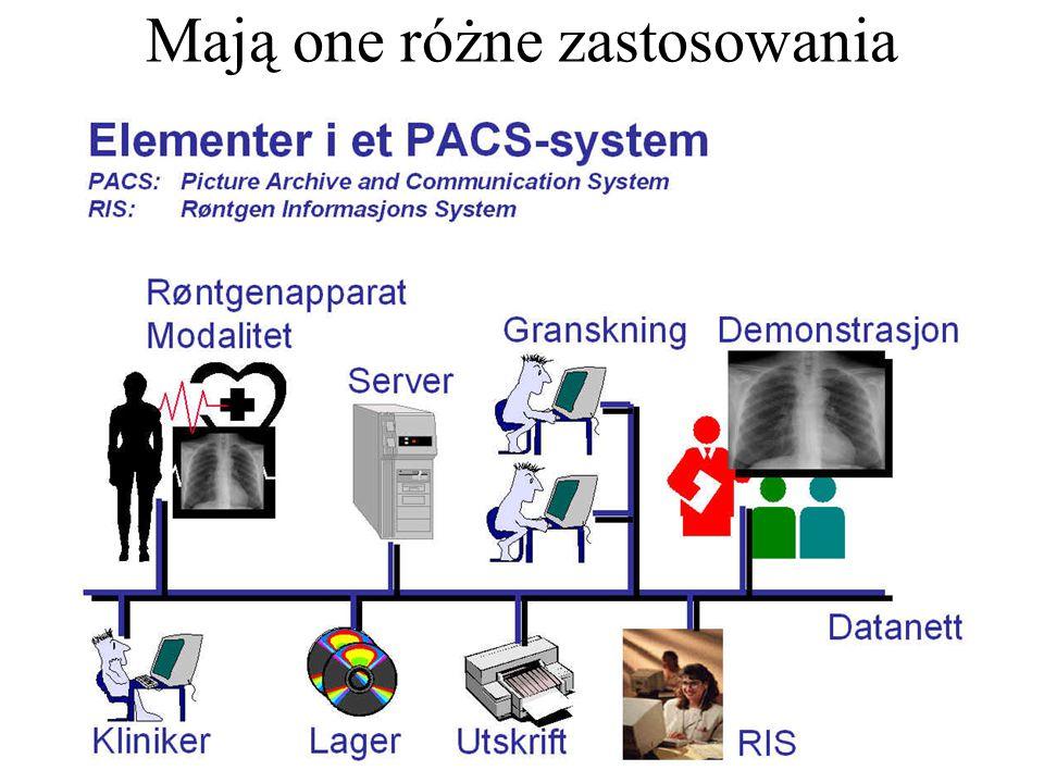 Najbardziej znanym przykładem są tu bazy PACS