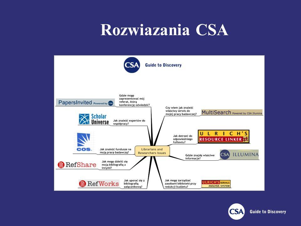 Rozwiazania CSA