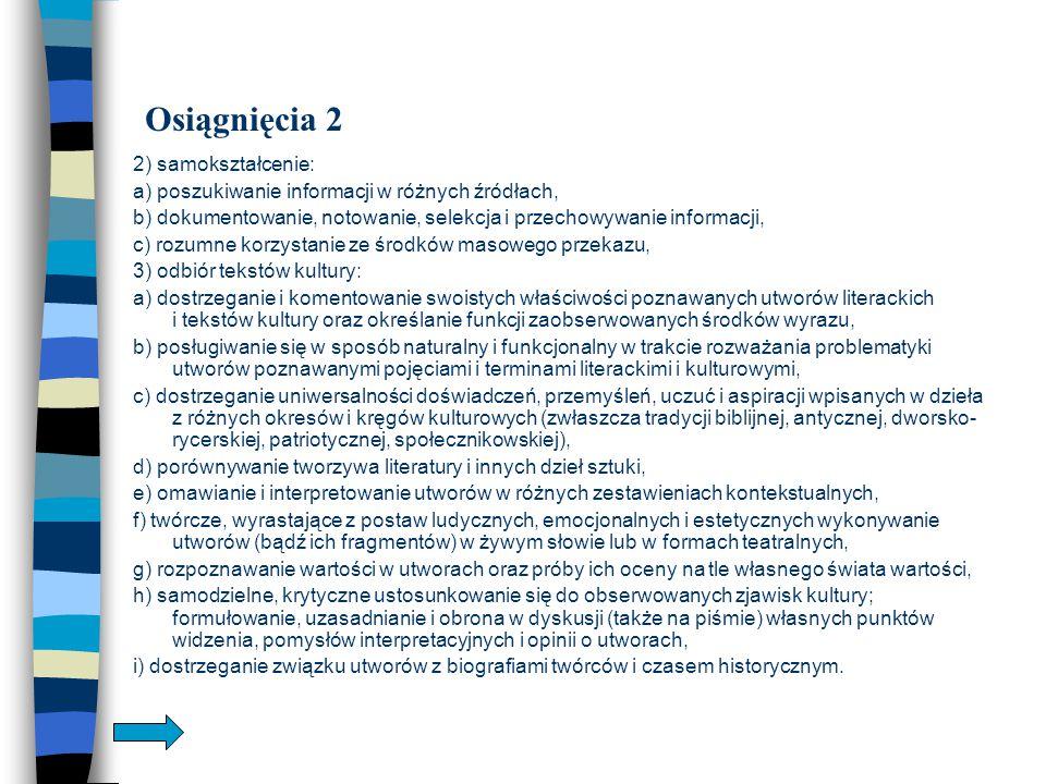 Lektury 1.