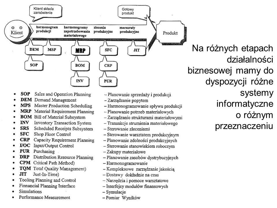 Przykładowe drzewo decyzyjne związane z projektowaniem systemu informatycznego