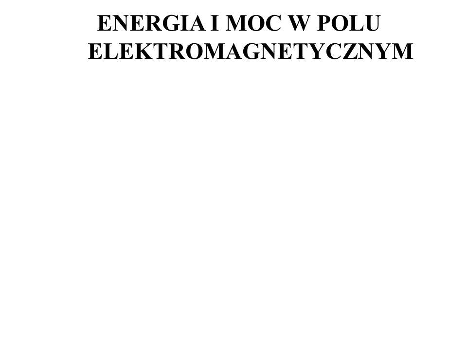 ENERGIA I MOC W POLU ELEKTROMAGNETYCZNYM