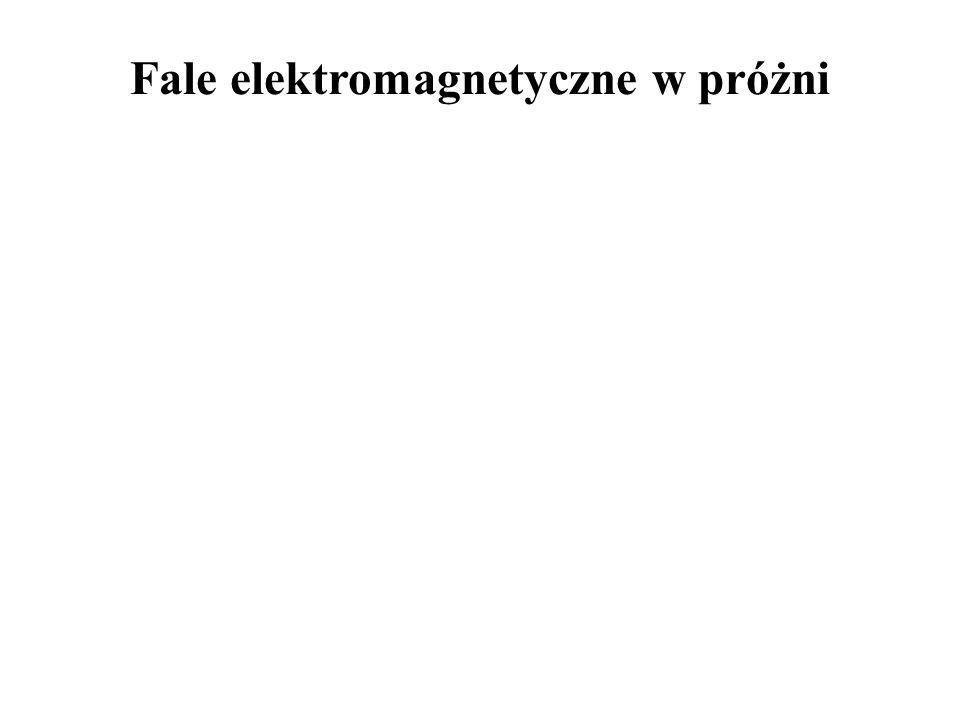 Fale elektromagnetyczne w próżni