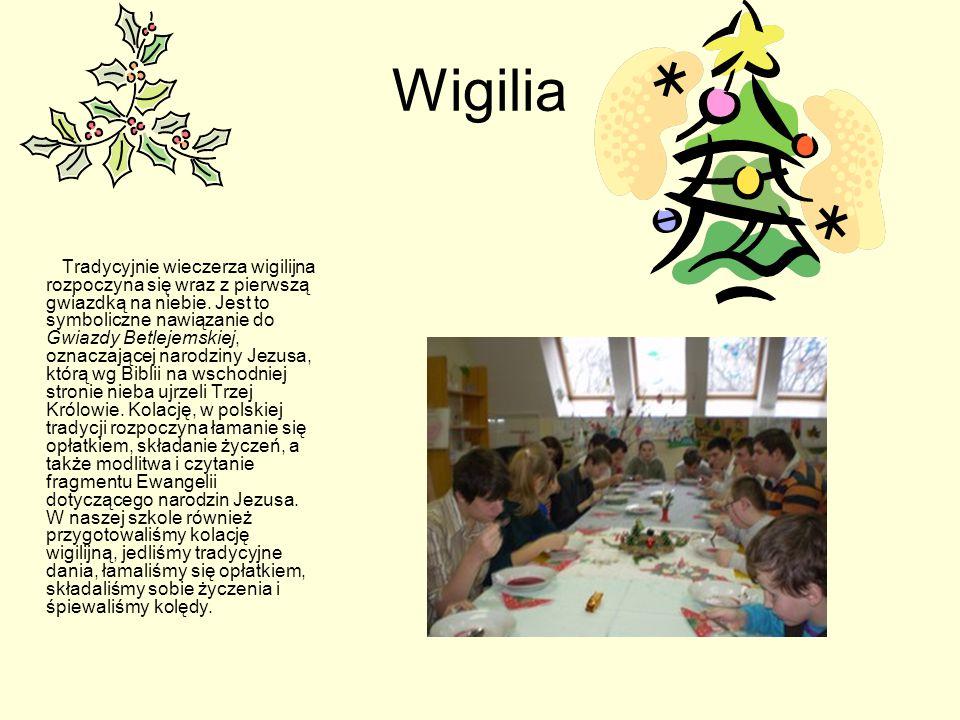 Jasełka Z okazji Świąt Bożego Narodzenia przygotowaliśmy jasełka, które obejrzeli uczniowie naszej szkoły, mieszkańcy DPS-u oraz zaproszeni goście. Br