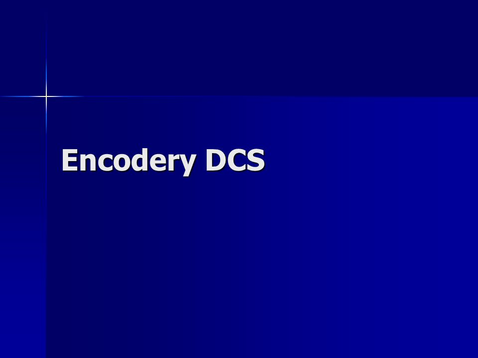 Encodery DCS