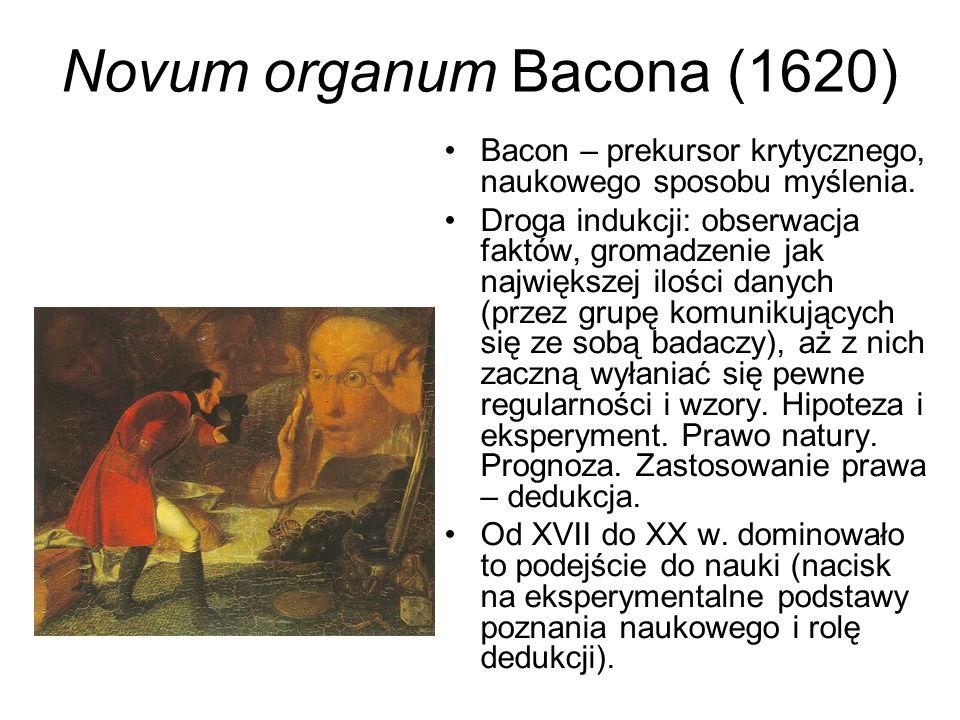 Bacona koncepcja złudzeń (fałszywych mniemań) zagradzających drogę do prawdy Źródła błędów tkwią w tzw.