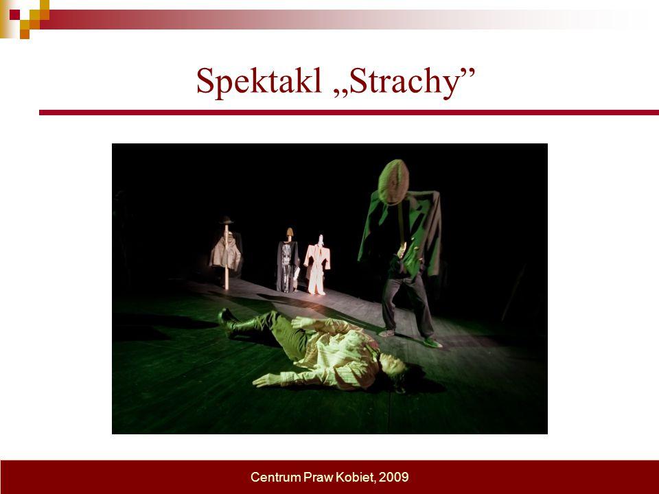 """Spektakl """"Strachy"""" Centrum Praw Kobiet, 2009"""