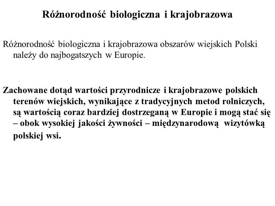 Główne zagrożenia wartości przyrodniczych i kulturowych wsi polskiej 8IntensyIacjINTENSYFIKACJA ROLNICTWA Zmiany struktury agrarnej – powiększanie pól połączone z likwidowaniem cennych użytków przyrodniczych, upraszczaniem struktury krajobrazu wiejskiego i z wprowadzaniem monokulturowych upraw Intensyfikacja gospodarki rolnej prowadząca do nasilenia się erozji gleb, zmian warunków wodnych (melioracje), chemizacji, intensyfikacja zabiegów rolniczych ( orka pożniwna, bronowanie, itp.) Nadmierna intensyfikacja gospodarki łąkarskiej lub pastwiskowej (wczesne terminy koszenia i wypasów, zwiększanie obsady zwierząt).