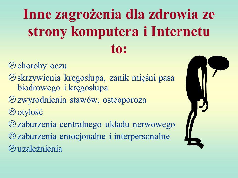 Diagnoza Pan Kamil Krajewski został dotknięty jedną z chorób związanych z długim przesiadywaniem przed komputerem surfując w Internecie.