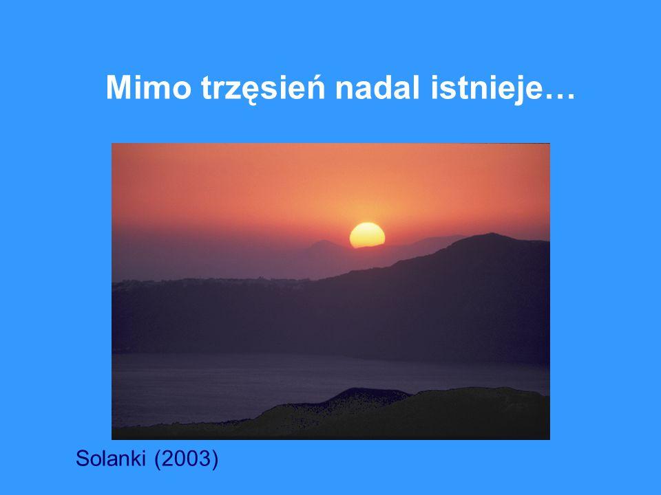 Mimo trzęsień nadal istnieje… Solanki (2003)