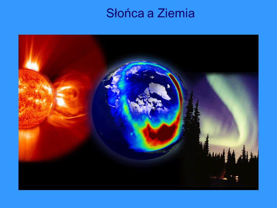 Słońca a Ziemia