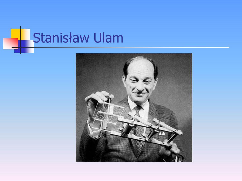 Historia Twórcą automatów komórkowych jest jeden z największych myślicieli ery komputerowej, który wprowadził koncepcję samo-reprodukcji – John von Neumann.