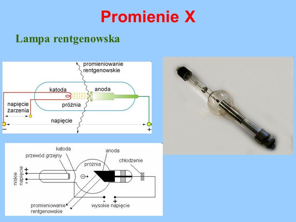 Promienie X Lampa rentgenowska