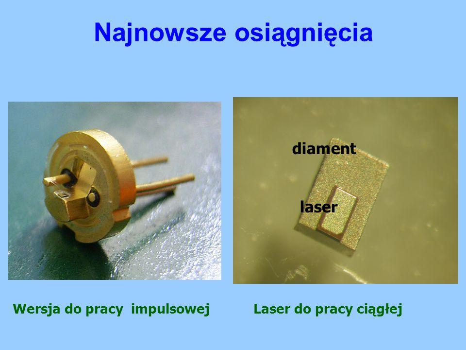 Wersja do pracy impulsowej diament laser Laser do pracy ciągłej
