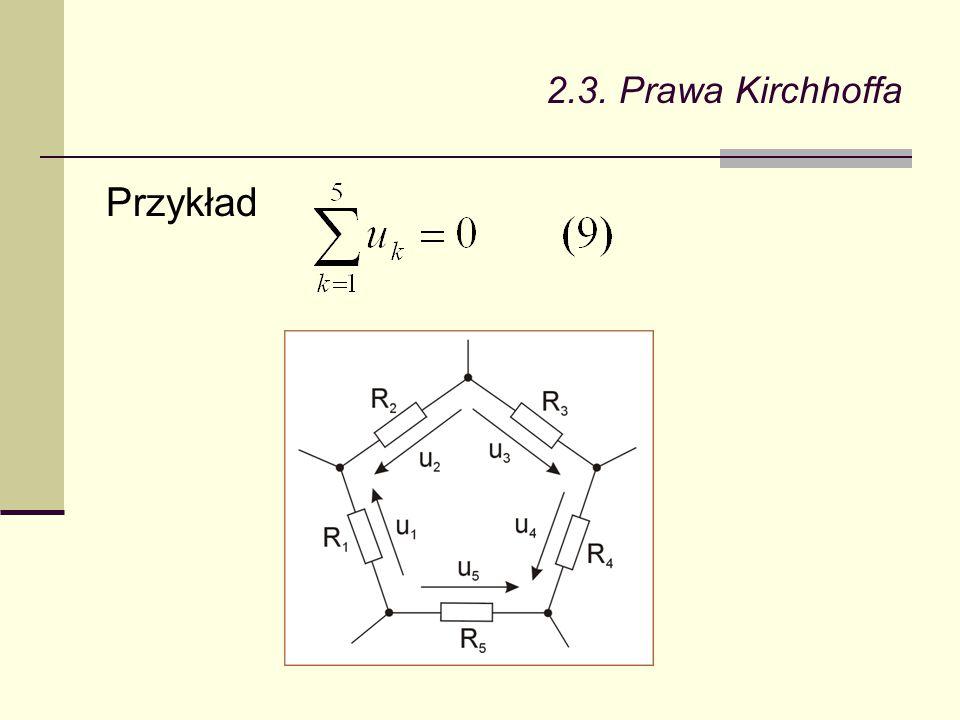 2.4.Elementy obwodów elektrycznych jest w nim w całości zamieniana na ciepło.