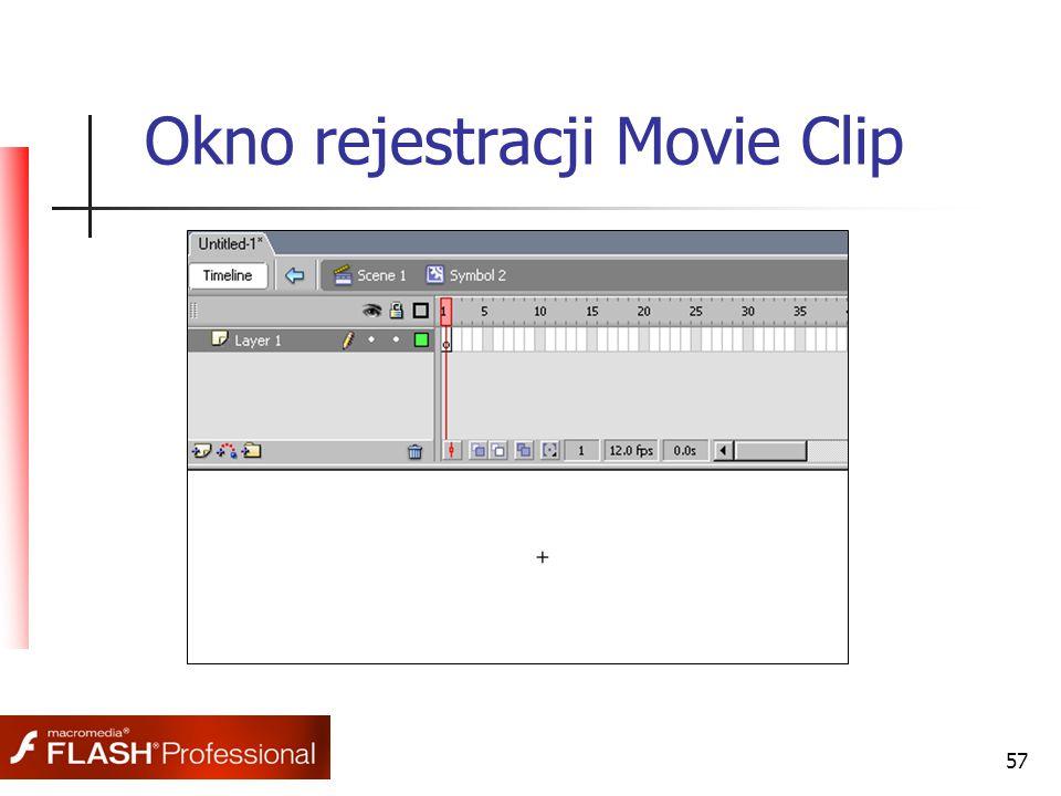 57 Okno rejestracji Movie Clip