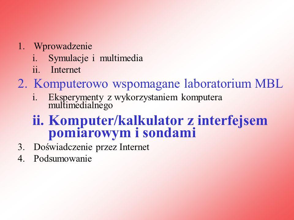 1.Wprowadzenie i.Symulacje i multimedia ii.