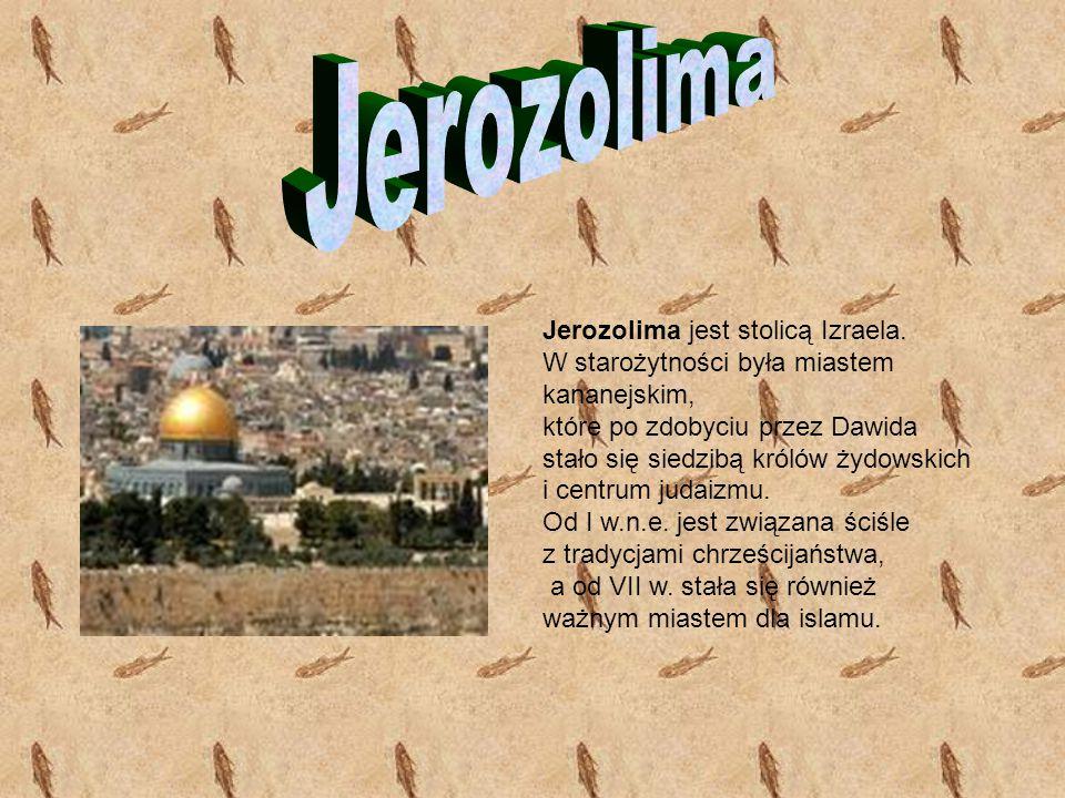 BRAMA LWÓW Brama Lwów zwana przez Chrześcijan Bramą Świętego Szczepana to jedyna otwarta ku wschodowi brama starej Jerozolimy.