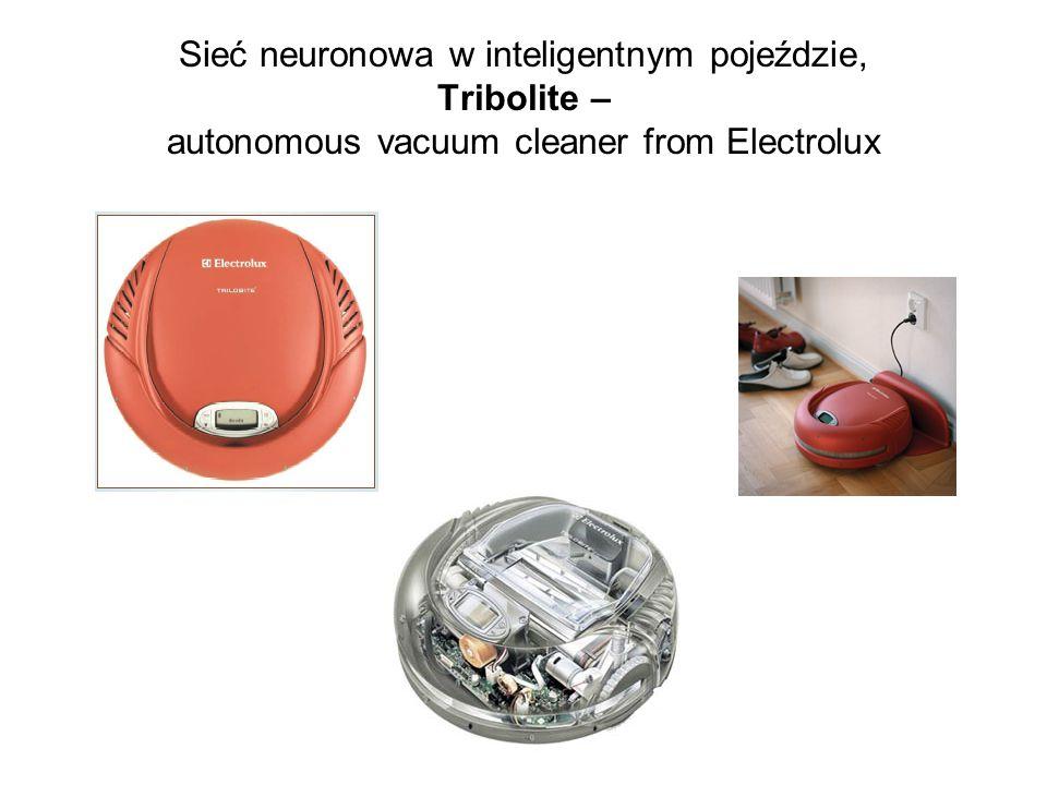 Sieć neuronowa w inteligentnym pojeździe, Tribolite – autonomous vacuum cleaner from Electrolux