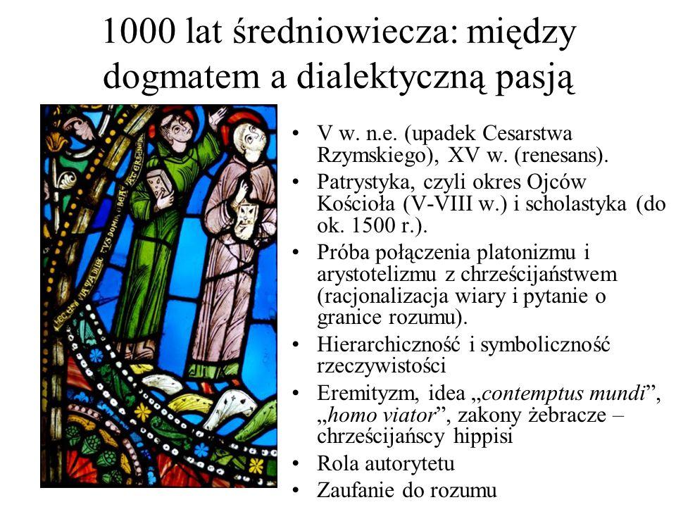 1000 lat średniowiecza: między dogmatem a dialektyczną pasją V w.