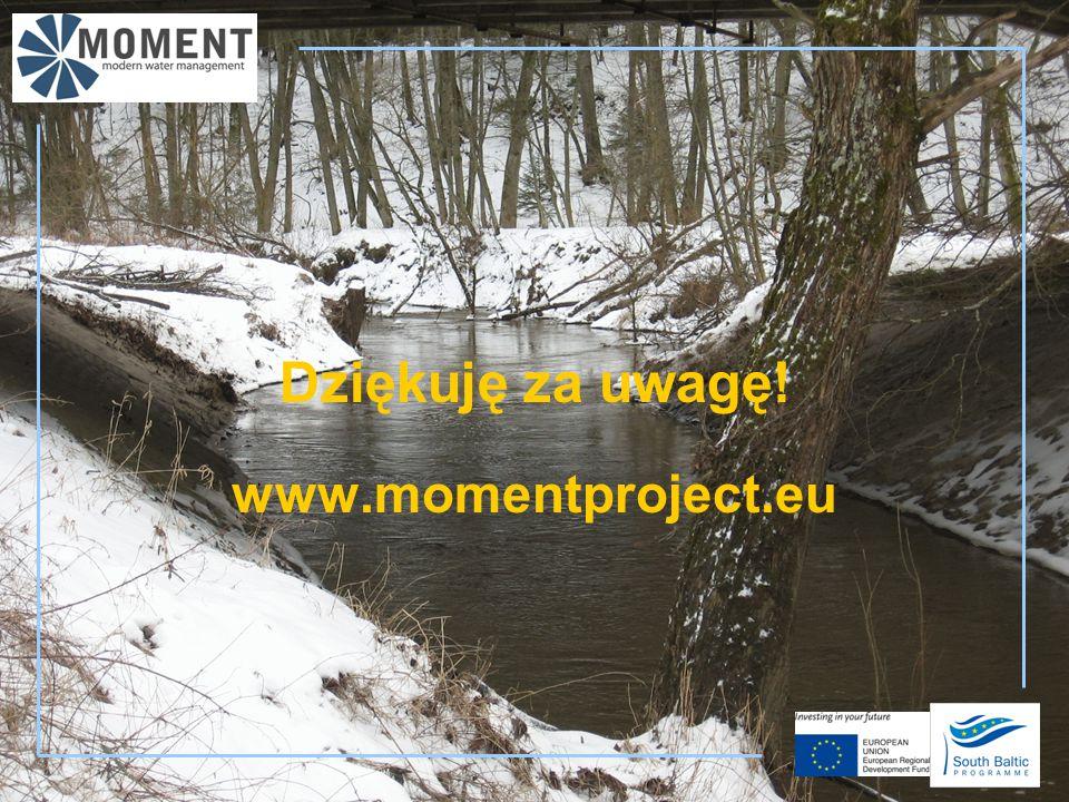 Dziękuję za uwagę! www.momentproject.eu