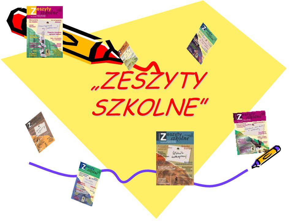 """""""ZESZYTY SZKOLNE"""