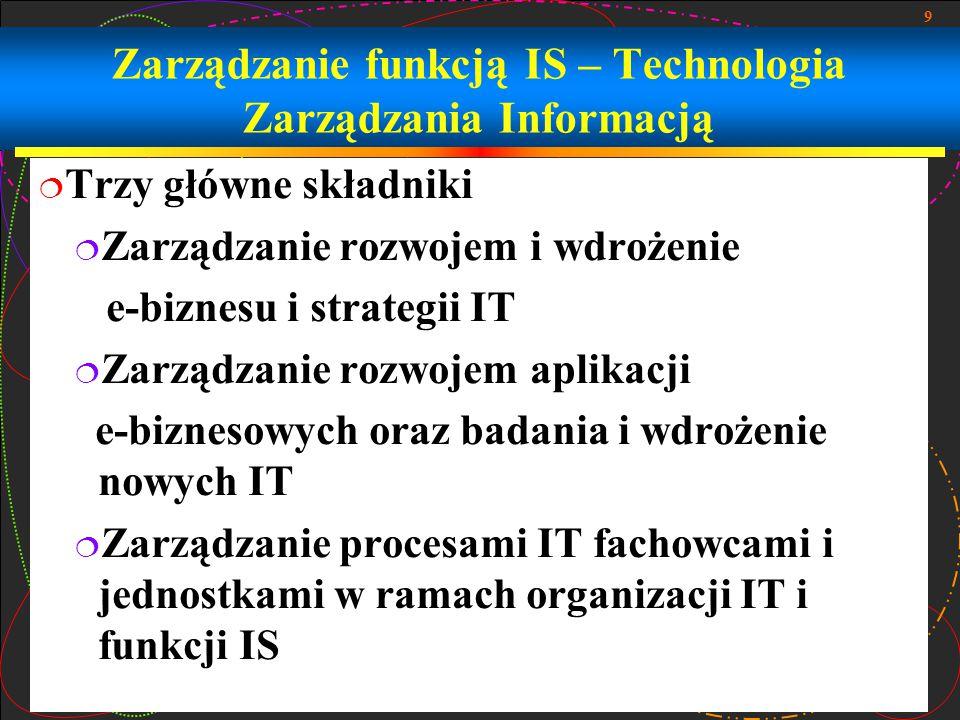 20 Globalne zarządzanie IT - Ramy
