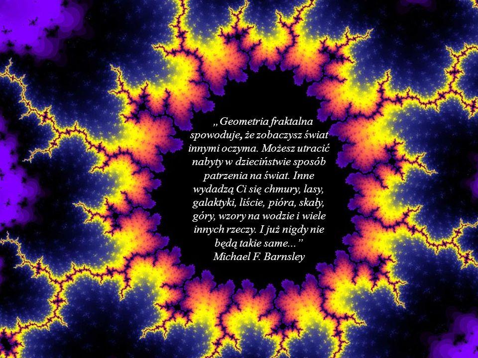 """""""Geometria fraktalna spowoduje, że zobaczysz świat innymi oczyma."""