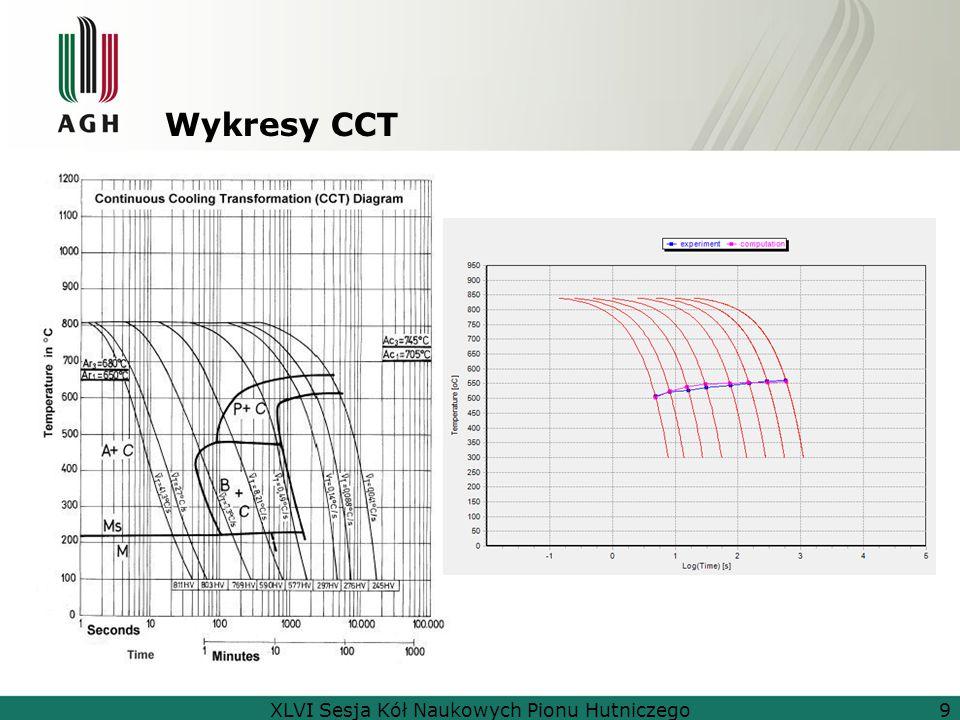 Wykresy CCT XLVI Sesja Kół Naukowych Pionu Hutniczego9