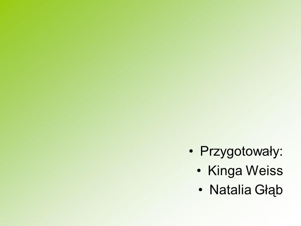 Przygotowały: Kinga Weiss Natalia Głąb