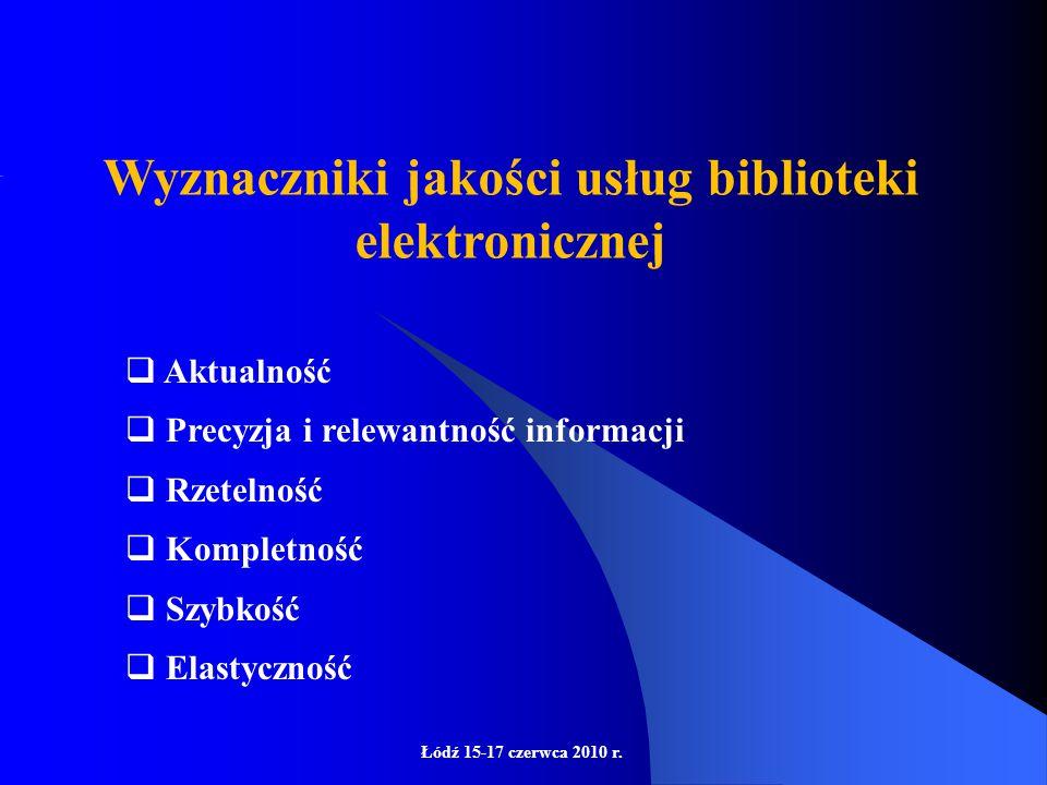 Łódź 15-17 czerwca 2010 r.Czy Google stanowi zagrożenie dla bibliotek i bibliotekarzy.