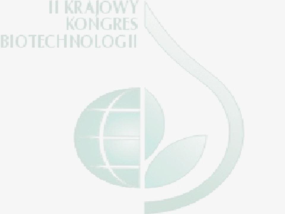 SERDECZNIE ZAPRASZAMY II KRAJOWY KONGRES BIOTECHNOLOGII Łódź, 23-27 czerwca 2003 r
