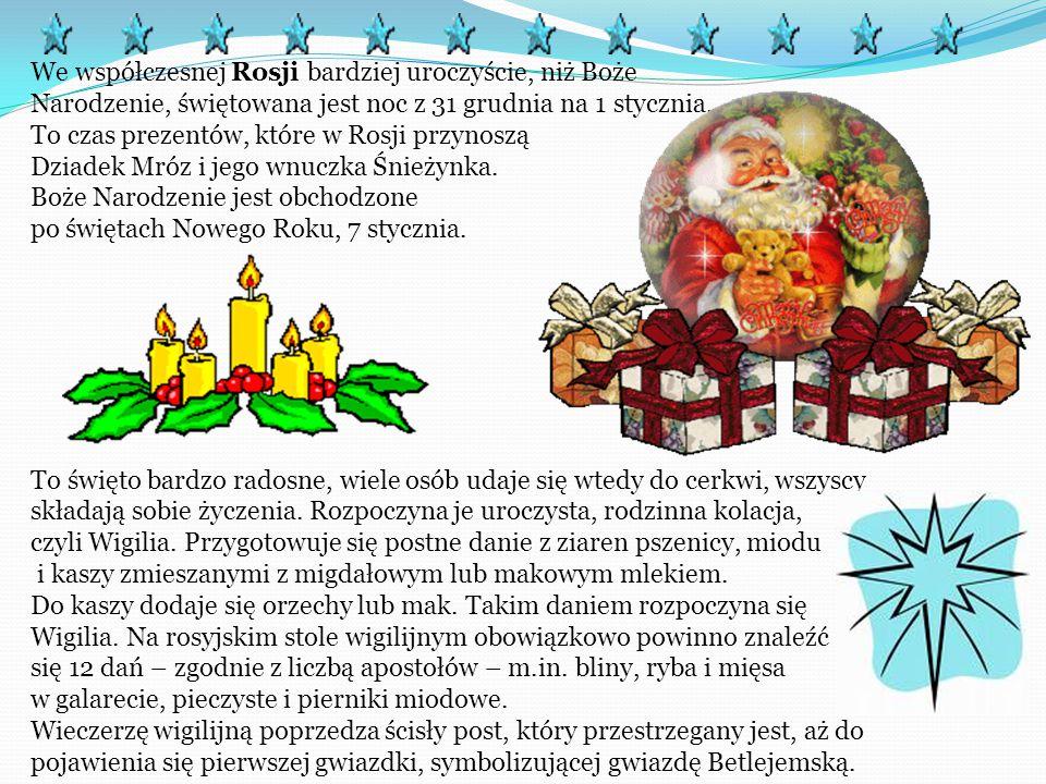We Włoszech Święta Bożego Narodzenia mają tysiącletnią tradycję. Włosi wysyłają wiele kartek z życzeniami do rodziny i przyjaciół. 8 grudnia ubiera si