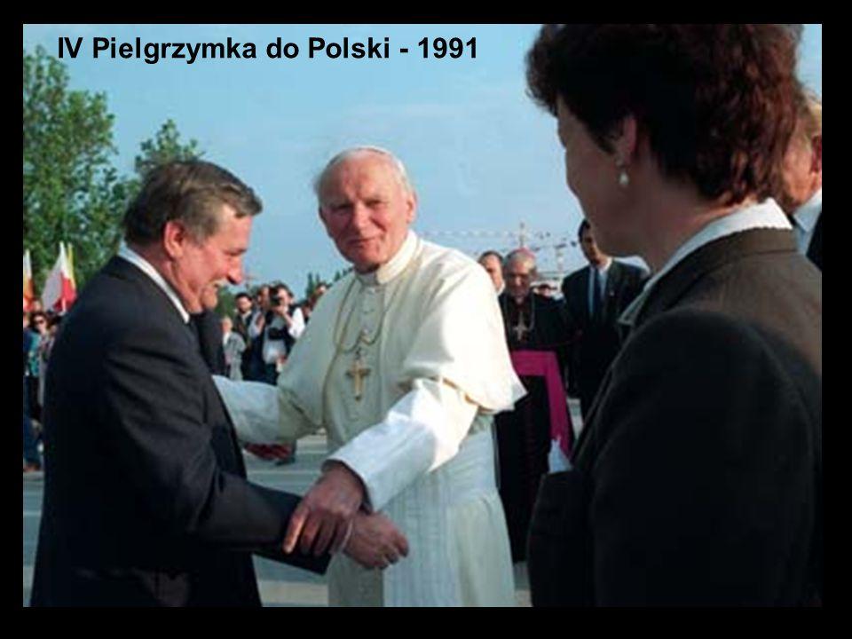 28 IV Pielgrzymka do Polski - 1991
