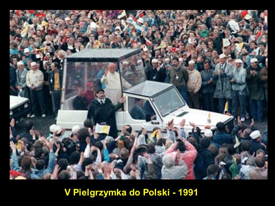 30 V Pielgrzymka do Polski - 1991