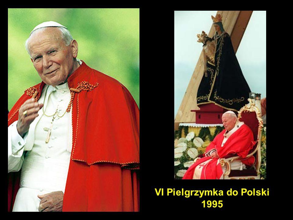 34 VI Pielgrzymka do Polski 1995