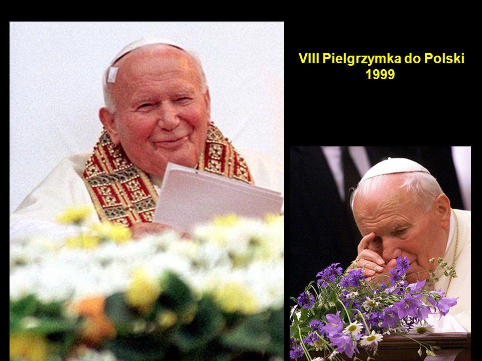 49 VIII Pielgrzymka do Polski 1999