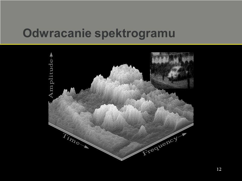 12 Odwracanie spektrogramu