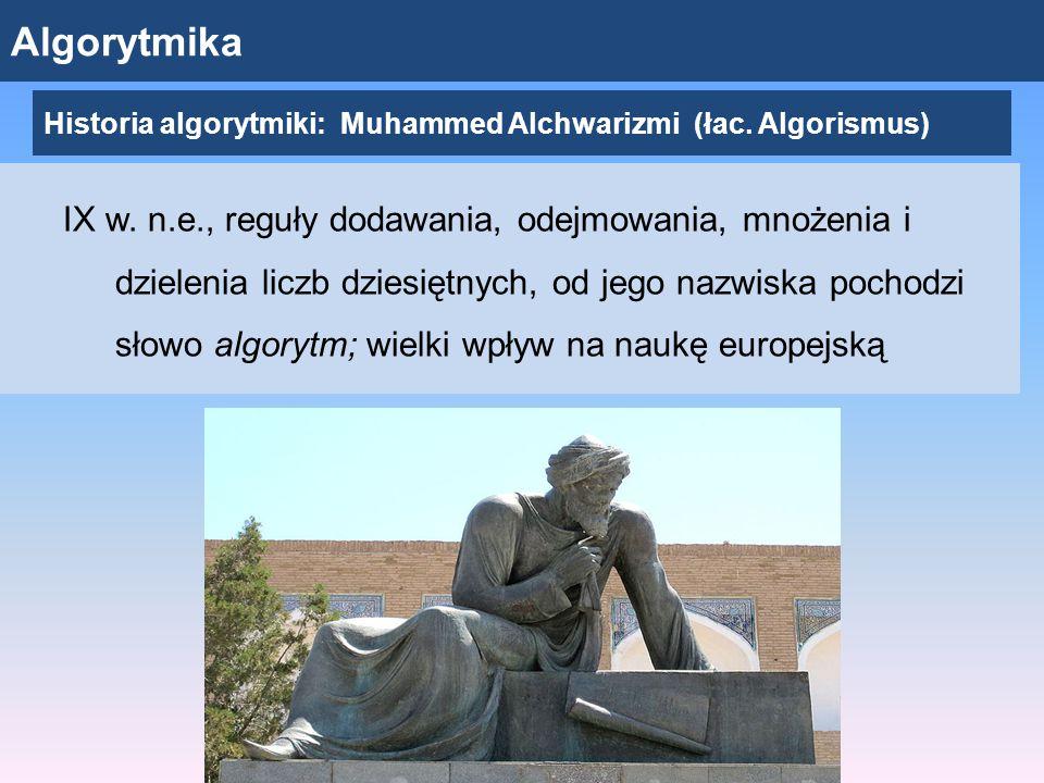 Algorytmika IX w.
