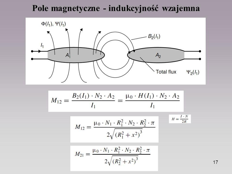 17 Pole magnetyczne - indukcyjność wzajemna